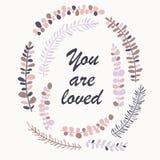 Laureles rosados Imagen de archivo libre de regalías