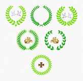 Laurels, war, navy, peace Royalty Free Stock Photo