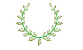 Laurels & Wreath Royalty Free Stock Photos
