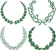 Laurels & Wreaths Stock Images