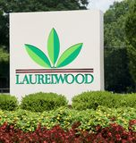 Laurelwood Strip Mall, Germantown, Tennessee. Royalty Free Stock Photos