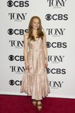 Lauren Ambrose. Actress Lauren Ambrose arrives for the 2018 Tony Awards Meet the Nominees press junket at the InterContinental New York Times Square Hotel on May Stock Photography