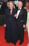 Lauren Bacall,Kirk Douglas Royalty Free Stock Image