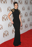 Lauren Cohan. LOS ANGELES, CA - JANUARY 25, 2015: Lauren Cohan at the 26th Annual Producers Guild Awards at the Hyatt Regency Century Plaza Hotel Stock Photo