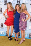 Lauren Conrad,Stephanie Pratt,Whitney Port Stock Image
