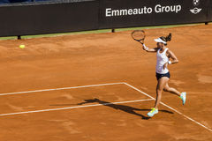 Lauren Davis sara errani brindisi fed cup Royalty Free Stock Images