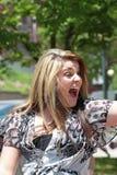 lauren den alaniaAmerika förebilden 2011 Fotografering för Bildbyråer
