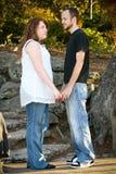 Lauren e Tim fotografia de stock