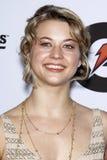 Lauren Froderman die bij de ?Gebeurtenis van de Lancering van de Reeks van Gatorade G Geschikte? aankomt Stock Foto's