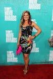 Lauren Hutcherson arriving at the 2012 MTV Movie Awards Stock Image