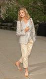 Lauren Hutton ex-super model royalty free stock photo