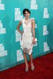 Lauren Mcknight arriving at the 2012 MTV Movie Awards Stock Photo