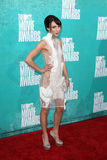 Lauren Mcknight arriving at the 2012 MTV Movie Awards Royalty Free Stock Images