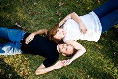 Lauren und Tim Stockbild