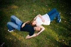 Lauren und Tim Lizenzfreie Stockfotografie