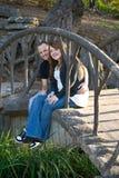 Lauren und Tim Stockbilder