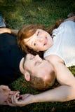 Lauren y Tim Fotografía de archivo libre de regalías