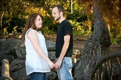 Lauren y Tim fotos de archivo