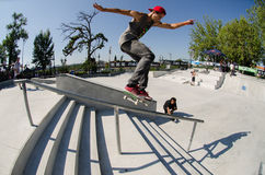Laurence Aragao FS lipslide Royalty Free Stock Images
