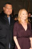 Laurence Fishburne, Marg Helgenberger Stock Photo