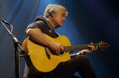 Laurence Juber in Prague Royalty Free Stock Photos