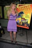 """Laurene Landon på """"släp från det helvete"""" showpartiet och kändisen Q&A, tyst filmbiograf, Los Angeles, CA. 07-10-11 Arkivbilder"""