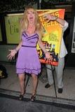Laurene Landon przy przedstawienia przyjęciem Q&A i osobistością 'przyczepy Od piekła', Cichy kino, Los Angeles, CA. 07-10-11 Obraz Stock