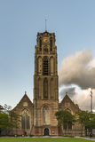 St Lawrence Basilica in Rotterdam royalty free stock image
