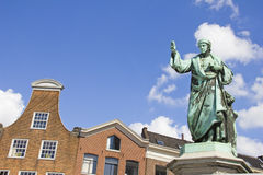 Laurens Janszoon Costers statue, Haarlem Stock Image