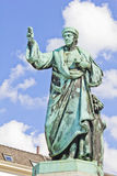 The Laurens Janszoon Costers statue, Haarlem Stock Image