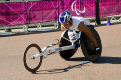 Laurens Molina Sibaja (COS) competing in the Londo Royalty Free Stock Photo