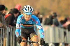 Laurens Sweeck - cyclo cross Stock Image