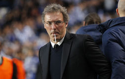 LAURENT BLANC Coach PARIS SAINT GERMAIN Royalty Free Stock Photography
