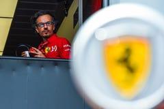 Laurent Mekies, Ferrari, Monaco 2019