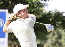 Laurent Seinger am Golf Prevens Trpohee 2009 Lizenzfreies Stockbild