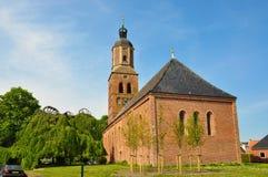 Laurentius Reform Church, Eenrum, Nederland Royalty-vrije Stock Afbeelding
