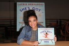 Laurie Hernandez obraz stock