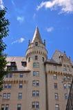 Замок Laurier Fairmont в Оттаве, Канаде стоковые фото