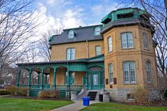 Laurier House, Ottawa, Canada. Laurier House, built in 1878, is a National Historic Site in Ottawa, Ontario, Canada. It was formerly the residence of two Royalty Free Stock Images