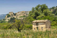 Lauris (Provence, France) Royalty Free Stock Photo