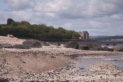 Lauriston城堡在爱丁堡,苏格兰 库存照片