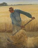 Laurits Andersen Ring (1854-1933), Harvest, 1885. DEP289 Royalty Free Stock Photography