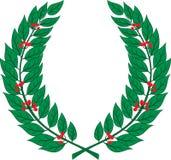 Laurowy wianek - symbol zwycięstwo i osiągnięcie Zdjęcia Stock