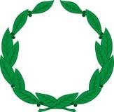 Laurowy wianek - symbol zwycięstwo i osiągnięcie royalty ilustracja