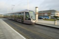 Laus Tram Royalty Free Stock Photography