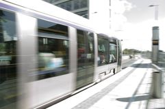 Laus Tram Royalty Free Stock Photo