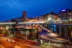 Lausana, Suíça Imagem de Stock Royalty Free