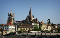Lausanne, Швейцария Стоковая Фотография