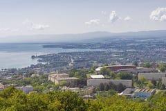 Lausanne stockbild