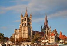 Lausanne Arkivbild